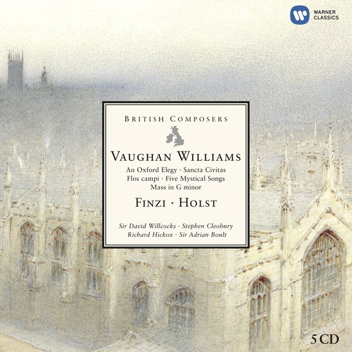 British Composers - Vaughan Williams, Finzi & Holst