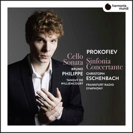 Sergei Prokofiev : Sinfonia concertante for cello & orchestra : Symphony-Concerto, op.125 – Sonata for cello and piano, op.119