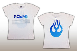 Nomadi T-Shirt - Medium bela - Fantki