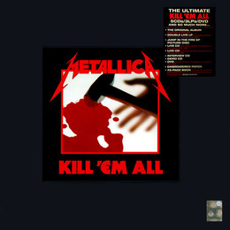 Kill  em All (Deluxe Box) 4lp+5cd+1dvd+1book (CD10)