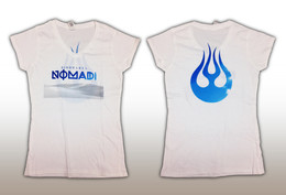Nomadi T-Shirt - Medium bela - Ženska