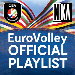 EuroVolley uradna playlista