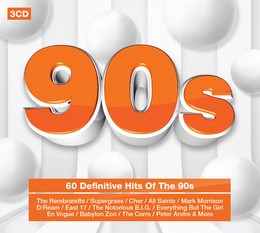 90s: The Definitive Hits Of The 90s - PREVOD: Pop - NIKA records
