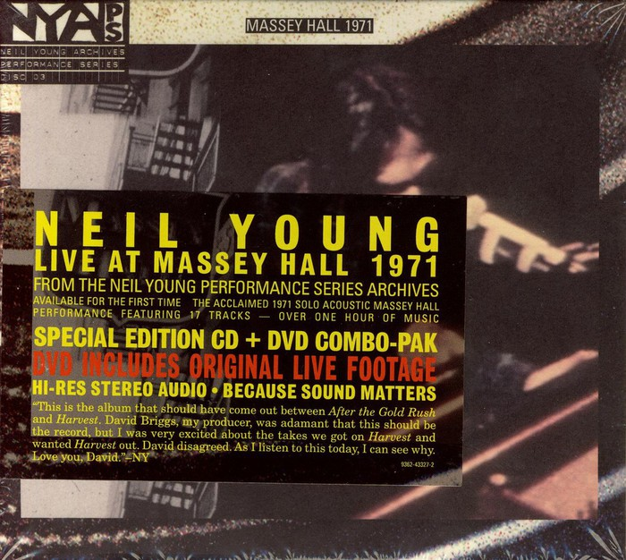 Live At Massey Hall 1971 - PREVOD: Rock / Rock / Blues Rock