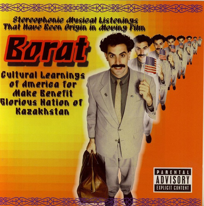 Borat - Stereophonic musical listenings that have been origin in moving film